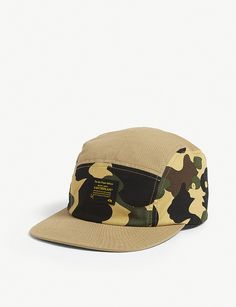 a4e2c0790fa A BATHING APE 1st Camo printed cotton baseball cap