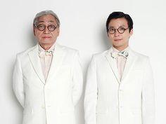 細野晴臣さんと星野源さんの対談集は、その内容はもちろん、カバーのデザインも大きな話題を巻き起こしている。バッチリ決めた2人の姿を収めた撮影現場の模様をレポート!