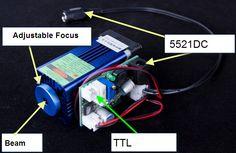 445nm blue laser DIY
