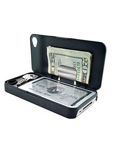 Keep the essentials on hand with an iPhone Wallet $19.98 - $24.98 | Solutions.com #Wallet #Phone #Gift