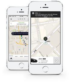 Uber anuncia UberPool, por ahora en beta privada.  Es un servicio para compartir automóvil, a un 40% más barato que el precio de Uberx y encima los pasajeros se dividen el costo, o sea que si viajan dos personas, cada una pagará aproximadamente un 30% de lo que cuesta UberX.