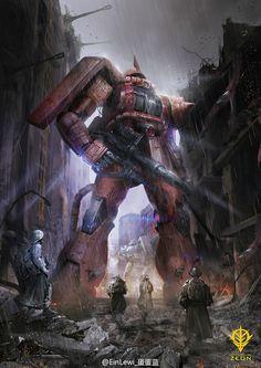GUNDAM GUY: Awesome Gundam Digital Artworks [Updated 6/8/15]