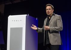 """Calling it the """"missing piece"""" in the renewable power revolution, Tesla Motors CEO Elon Musk on Thursday unveiled the electric automaker's latest products — batteries big enough to power homes, businesses or entire communities.  Paired with rooftop solar panels, Tesla batteries promise the ability to tap the sun's energy, day or night.  [...] at a night-time ceremony powered entirely by stored sunlight, Musk cast the batteries as essential to ending the reign of fossil fuels and fighting…"""