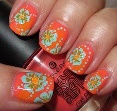Lounge Chair Flower nails – Soul Sista week