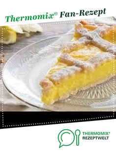 Crostata al Limone (lemon tart) - Crostata al Limone (lemon tart) by A Thermomix ® recipe from the category baking sweet ww - Baking Recipes, Cake Recipes, Eat Pray Love, Macaroni And Cheese, French Toast, Deserts, Food And Drink, Breakfast, Sweet