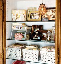 Cottage Living - locker basket storage