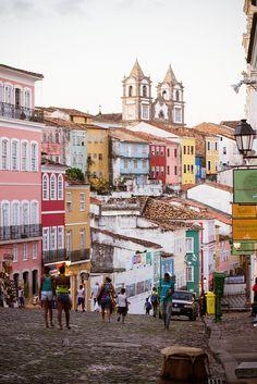 Pelourinho, Salvador da Bahia, Brazil