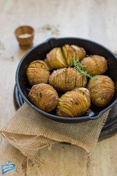 Hasselback potatoes/Ziemniaki Hasselback