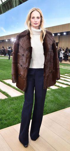 Lauren Santo Domingo. Paris Couture Week, Spring 2016.