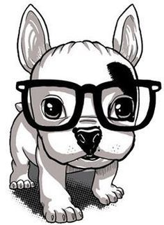 Facts On The Affectionate French Bulldog Pups And Kids Posters Gratis, Animal Drawings, Cute Drawings, Cute Illustration, Dog Art, Dog Pictures, Dog Love, Cute Dogs, Cute Animals