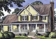Eplans Country House Plan - Designed to Make an Impression - 2064 Square Feet and 3 Bedrooms from Eplans - House Plan Code HWEPL09791