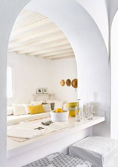 STYLISH HOLIDAY SUITES & VILLAS ON MYKONOS, GREECE | style-files.com | Bloglovin'