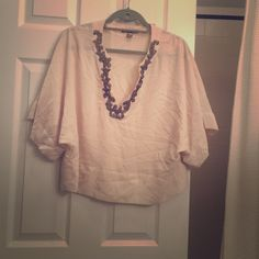 Love 21 blouse Love 21 embellished blouse  size medium Love 21 Tops Blouses