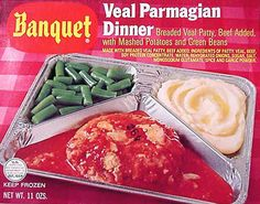 vintage tv dinner ads YUM! (not)