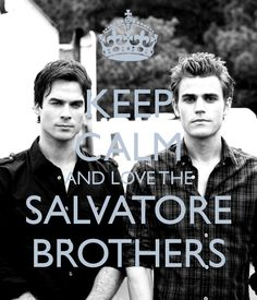 Vampire Dairies! The Salvatore Brothers...Hmmmmmm Looking Good! #Handsome #VampireDairies #GoodLooking