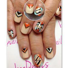 A Combination of Orange & tiffany blue art for Mrs Loo!  #beeqnails #opipartnersalon #opi #nails #nailartaddict #nailslover #nailsofinstagram #instanails #nailsaddict #lovefornails #nailswag #nailsporn #nailsaddiction #potd #notd #tagsforlike #nailart #gelmanicure #opigelcolor #bellaforma #nailartdesign #nailgasm #nailvenus #nailup #nailmax #nailprodigy