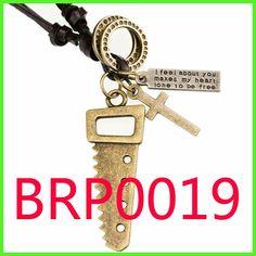 PU Leather necklace BRP0019