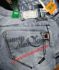 EMBOSS + PRINT Men Trousers, Jeans Pants, Ankle Jeans, Fashion Pants, Mens Fashion, Ripped Jeans Men, Patterned Jeans, Surf Wear, Best Jeans