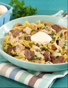 This Beef Stroganoff recipe is so simple, you might want to make it for dinner every day of the week.