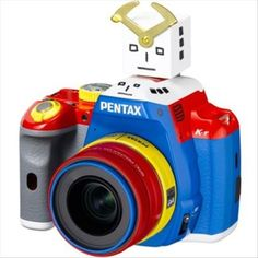 Limited edition robot-shaped Pentax camera  August 2013