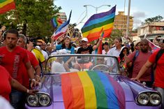 Cubans show LGBTQ pride with flags, dancing in Havana parade