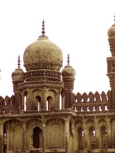 islamic-cultures: Dome Toli Masjid Hyderabad India by chashm-deed on Flickr.