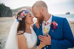 Bright & colorful wedding