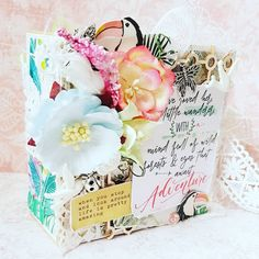 paperlover, thompsonscraftsupplies, and kasiabigaj during July 2018 Mini Albums, Craft Supplies, Amazing, Tableware, Pretty, Blog, Gifts, Dinnerware, Presents
