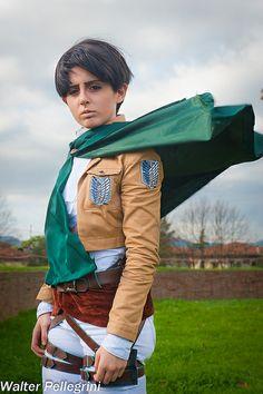 Levi, Attack on Titan | Lucca Comics & Games 2013 Domenica #anime #Cosplay