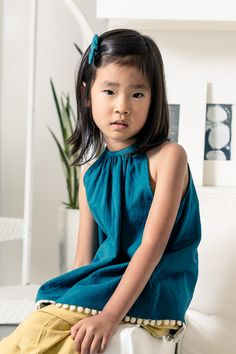 Noch Mini Turquoise Top