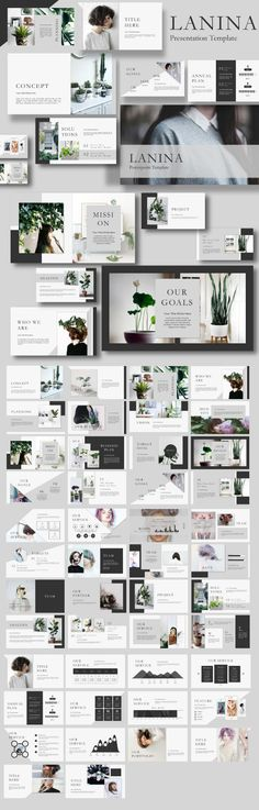 #Lalina #Powerpoint Template - #Creative PowerPoint #Templates