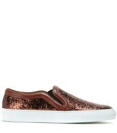 Givenchy - Low Skate glitter slip-on sneakers - mytheresa.com