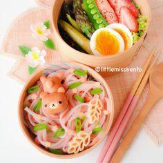 Teddy Bear Noodle Bento