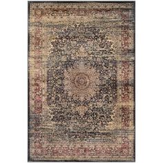 Found it at Wayfair - Cotaco Black/Oatmeal Area Rug