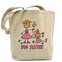 Stick Princess Duo Big Sister Tote Bag