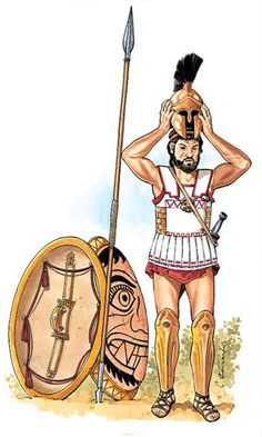 Greek Soldier, Classical Greece, Hellenistic Period, Greek Warrior, Trojan War, Greek History, Medieval Armor, Iron Age, Ancient Greece