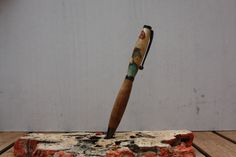 Epoxy Resin & wood Slim Line Pen