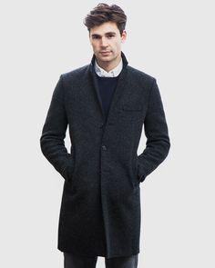 Harris Wharf London Boiled Wool Coat