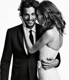 Groom Style: Vera Wang Collection (Black) with Mens Wearhouse Groom Style: Vera Wang Collection (Black) with Mens Wearhouse Couple Photoshoot Poses, Couple Photography Poses, Couple Portraits, Couple Posing, Couple Shoot, Wedding Photoshoot, Portrait Photography, Fashion Editorial Couple, Fashion Couple