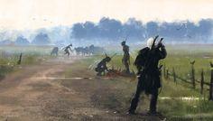 Witcher inspired paintings by Polish artist Jakub Różalski - Album on Imgur