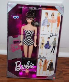 (NEW SEALED) ORIGINAL 1959 REPRODUCTION BARBIE DOLL 35TH ANNIVERSARY #Mattel