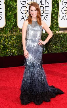 Julianne Moore: Best Dressed at 2015 Golden Globes