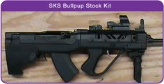 SKS bull pup stock by Shernic Gun Works. Bringing the SKS back to modern times.