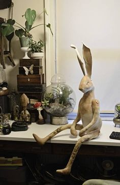 Mister Finch's hare