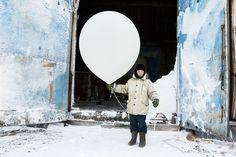 """Tiksi"" - An arctic region town. An incredible series of photos by Evgenia Arbugaeva.   (location: Tiksi, Russia; photographer: Evgenia Arbugaeva)"