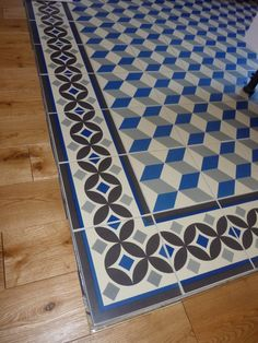 1000 images about carreaux ciment vs parquet on pinterest - Tapis de couloir saint maclou ...