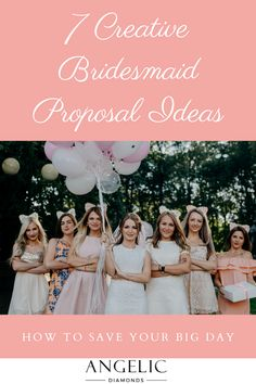 Spring Wedding, Diy Wedding, Wedding Ceremony, Be My Bridesmaid, Bridesmaids, Brides Maid Proposal, Creative Wedding Ideas, Wedding Planning Checklist, Perfect Wedding