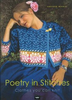 Poetry in stitches   Tichiro - knits and cats