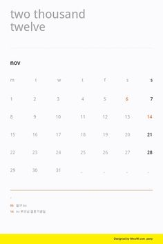 #calendar #design #graphic #editorial