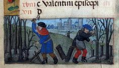 The Labours of the Months, February - Book of Hours  Brotherton Collection MS 9 University of Leeds